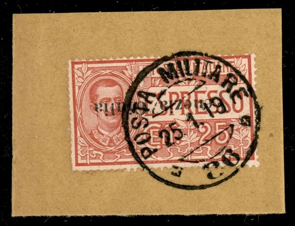 ITALIA / Occupazioni I guerra mondiale / Venezia giulia / Espressi