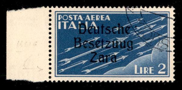 ITALIA / Occupazioni straniere di territori Italiani / Occupazione Tedesca / Zara / Posta aerea