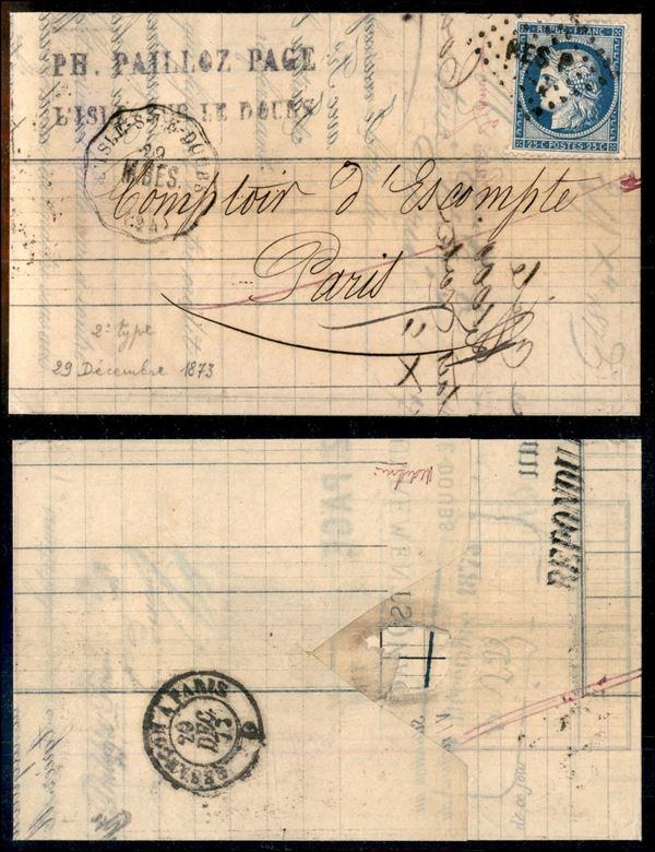 FRANCIA / Posta ordinaria