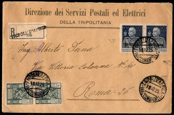 ITALIA / Colonie / Tripolitania / Posta ordinaria
