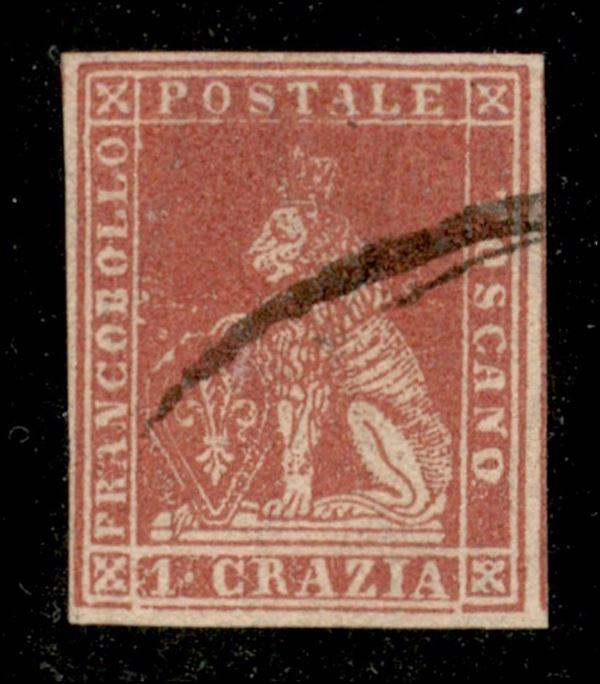 ITALIA / Antichi Stati Italiani / Toscana / Posta ordinaria