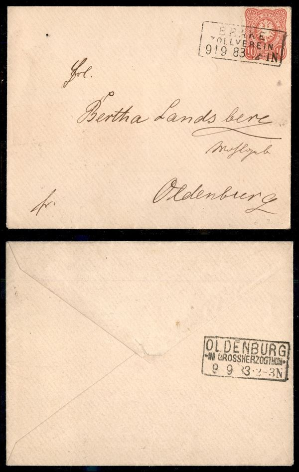 GERMANIA / Posta ordinaria
