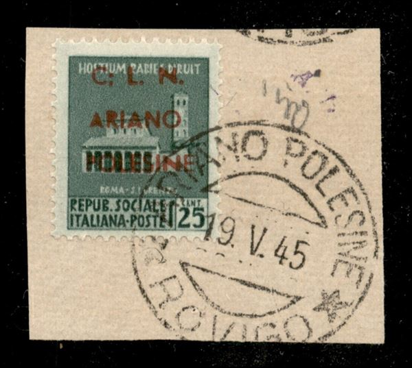 ITALIA / C.L.N. / Ariano Polesine / Posta ordinaria
