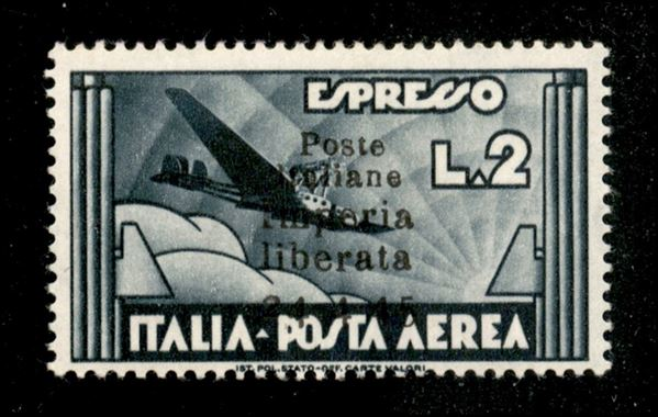 ITALIA / C.L.N. / Imperia / Posta aerea