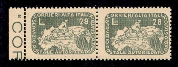 ITALIA / Emissioni Locali / Servizi Postali Autorizzati / COR.AL.IT. / COR.AL.IT.