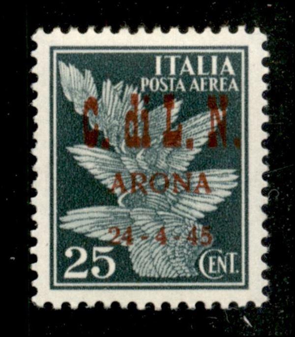 ITALIA / C.L.N. / Arona / Posta ordinaria