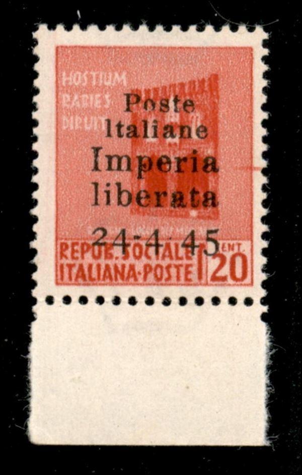 ITALIA / C.L.N. / Imperia / Posta ordinaria