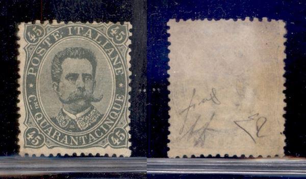 ITALIA / Regno / Posta ordinaria  (1889)  - Asta Asta Veloce - I - Auction Galler [..]