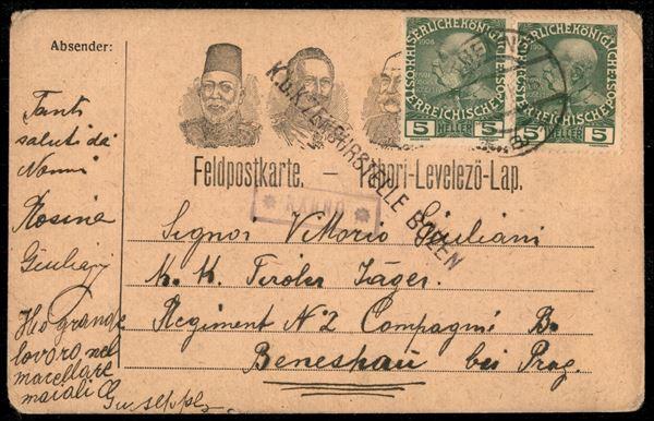 ITALIA / Antichi Stati Italiani / Territori italiani d'Austria / Posta ordinaria