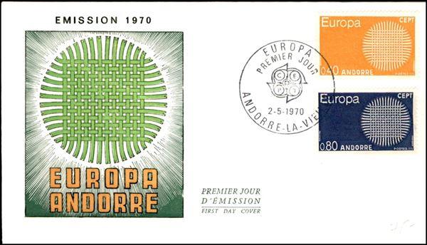 ANDORRA FRANCESE / Posta ordinaria