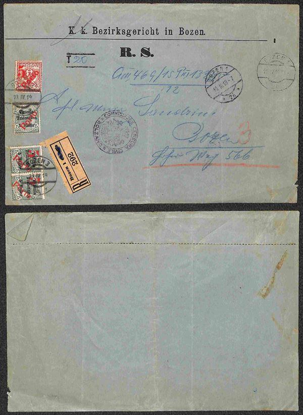 ITALIA / Occupazioni I guerra mondiale / Trentino-Alto Adige / Bolzano 3 / Posta ordinaria