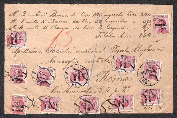 ITALIA / Occupazioni I guerra mondiale / Trento e Trieste / Posta ordinaria