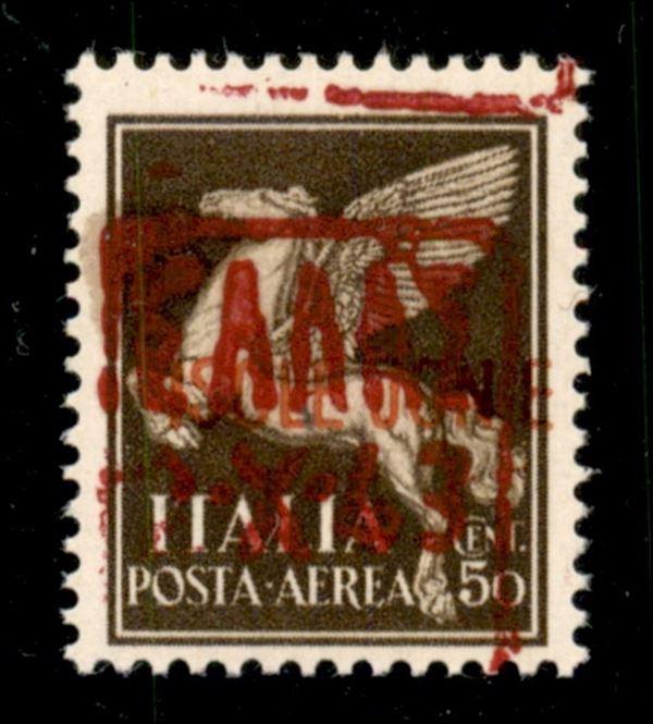 ITALIA / Occupazioni straniere di territori Italiani / Occupazione Tedesca / Zante / Posta aerea