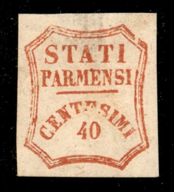 ITALIA / Antichi Stati Italiani / Parma / Posta ordinaria  (1859)  - Asta Asta Pubblica-Live Vendita Generale - Auction Gallery