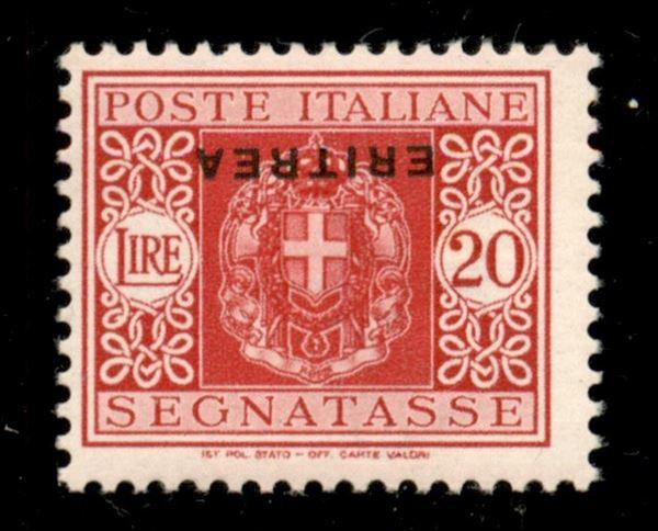 ITALIA / Colonie / Eritrea / Segnatasse