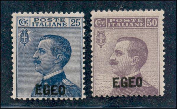 ITALIA / Colonie / Egeo / Emissioni generali / Posta ordinaria