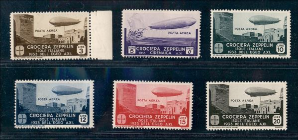 ITALIA / Colonie / Egeo / Emissioni generali / Posta aerea