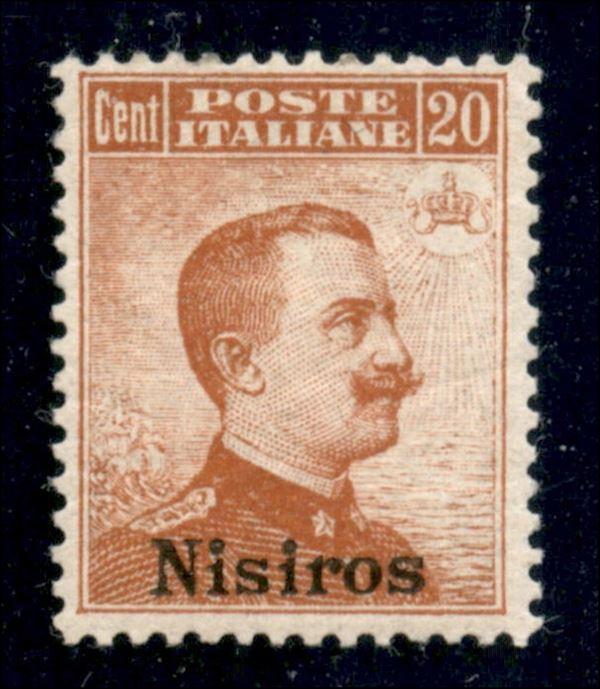 ITALIA / Colonie / Egeo / Nisiro / Posta ordinaria