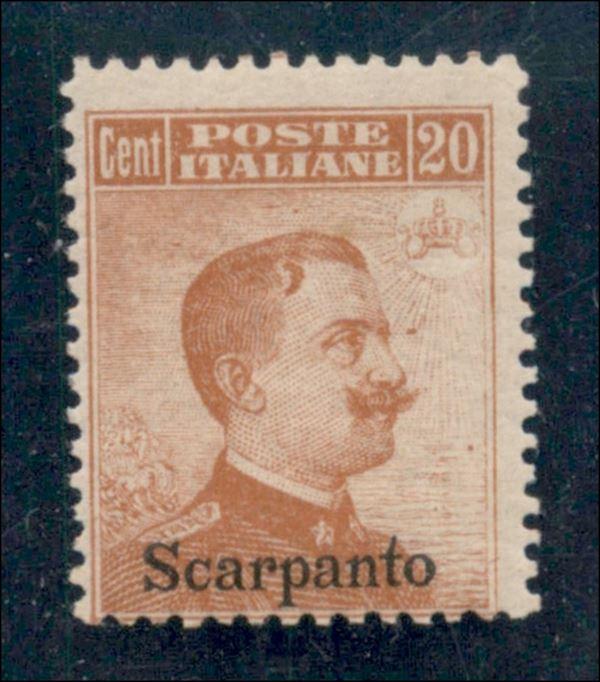 ITALIA / Colonie / Egeo / Scarpanto / Posta ordinaria