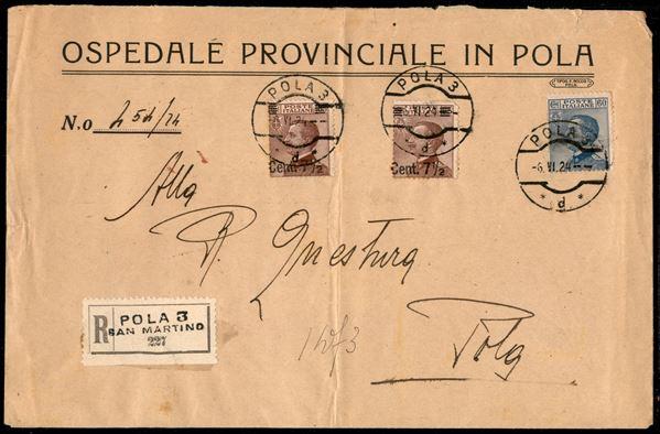 ITALIA / Occupazioni I guerra mondiale / Dalmazia / Posta ordinaria