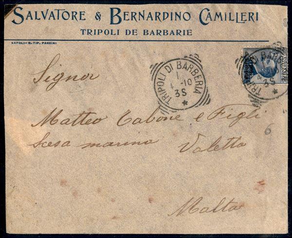 ITALIA / Uffici Postali all'Estero / Levante / Tripoli di Barberia / Posta ordinaria