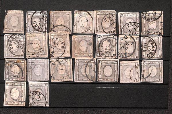 ITALIA / Regno / Posta ordinaria  (1861)  - Asta Asta Veloce - I - Auction Galler [..]