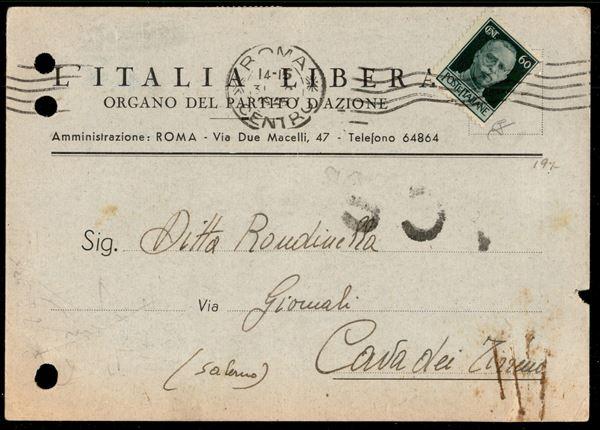 ITALIA / Luogotenenza / Posta ordinaria