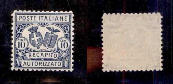 ITALIA / Regno / Recapito autorizzato
