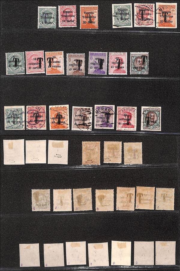 ITALIA / Occupazioni I guerra mondiale / Merano / Posta ordinaria  (1918/1919)  - Asta Asta Veloce - Auction Gallery