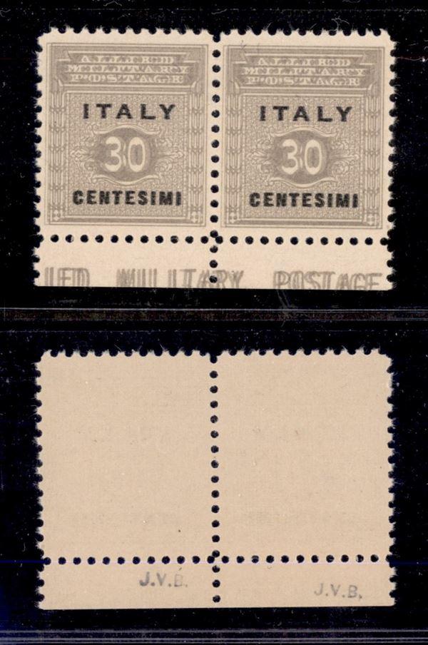 ITALIA / Occupazioni straniere di territori Italiani / Occupazione Anglo-Americana / Sicilia / Posta ordinaria