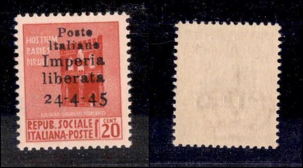 ITALIA / C.L.N. / Imperia / Non Emessi