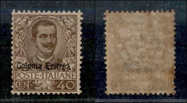 ITALIA / Colonie / Eritrea / Posta ordinaria  (1903)  - Asta Asta Veloce - II -  [..]
