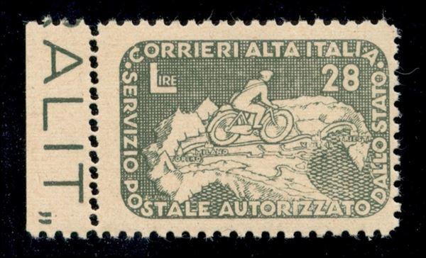 ITALIA / Servizi Postali Autorizzati / COR.AL.IT. / COR.AL.IT.