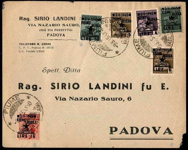 ITALIA / Occupazioni straniere di territori Italiani / Occupazione Jugoslava / Fiume