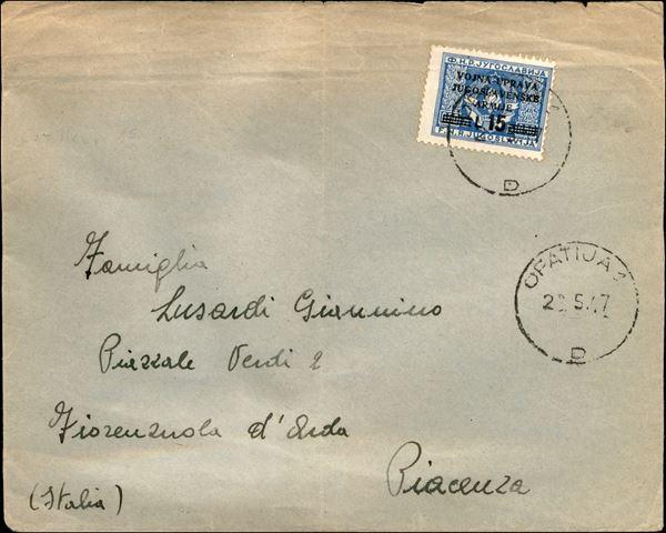 ITALIA / Occupazioni straniere di territori Italiani / Occupazione Jugoslava / Litorale Sloveno (amm. Milit. Jugoslava)