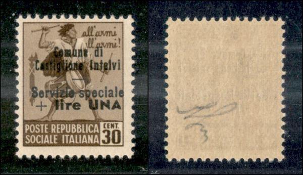 ITALIA / Emissioni Locali / Castglione d'Intelvi / Posta ordinaria