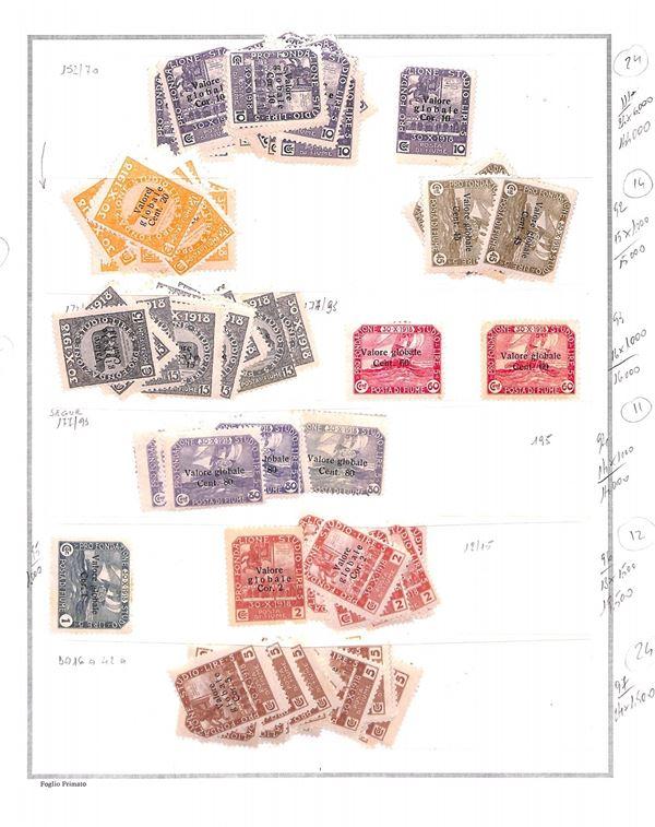 ITALIA / Occupazioni I guerra mondiale / Fiume  (1919/1920)  - Asta Asta Veloce - Auction Gallery