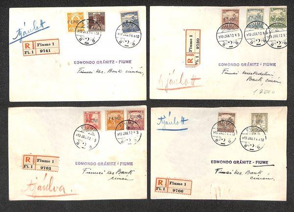 ITALIA / Occupazioni I guerra mondiale / Fiume  (1919)  - Asta Asta Veloce - Auction Gallery