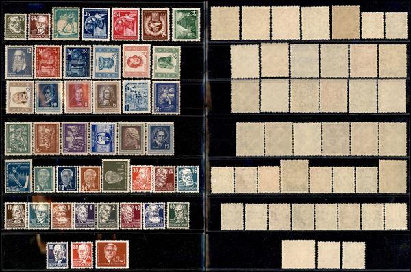 GERMANIA / DDR / Posta ordinaria