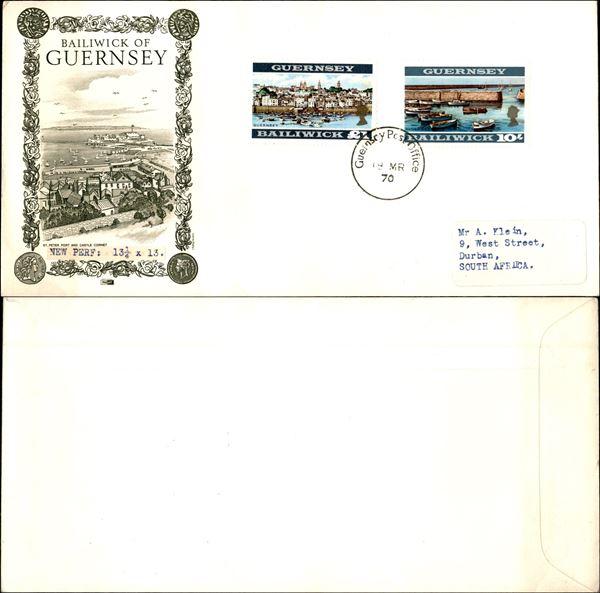 GRAN BRETAGNA - GUERNSEY / Posta ordinaria