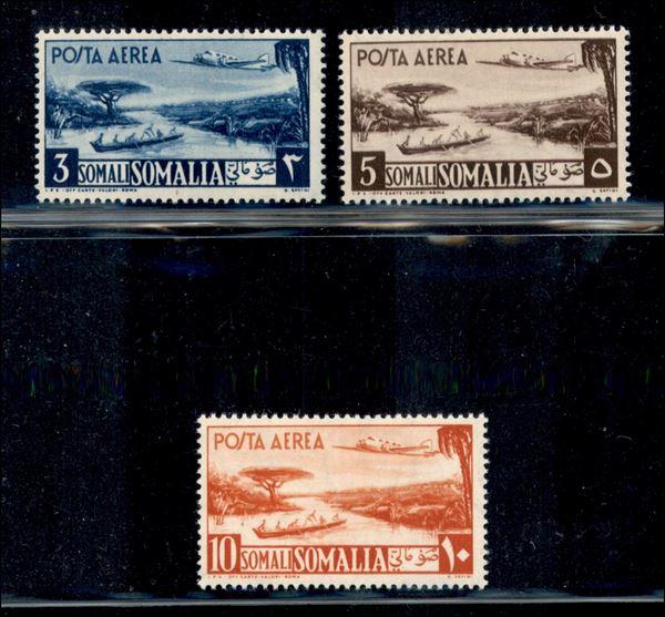 ITALIA / Colonie / Somalia A.F.I.S. / Posta ordinaria