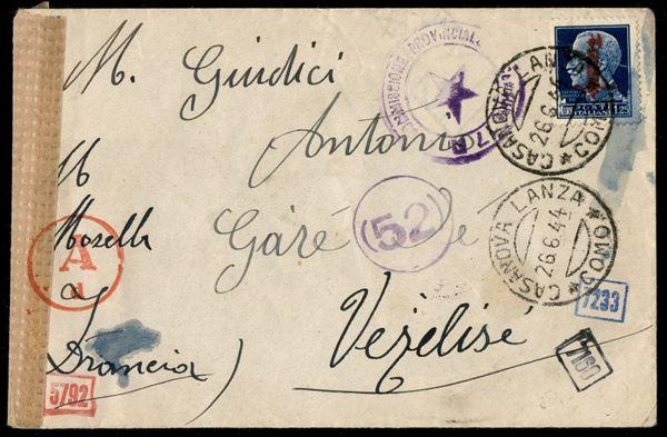 ITALIA / RSI / Provvisori / Roma / Posta ordinaria