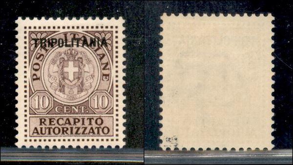 ITALIA / Colonie / Tripolitania / Recapito autorizzato