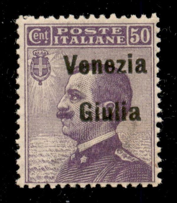 ITALIA / Occupazioni I guerra mondiale / Venezia giulia / Posta ordinaria
