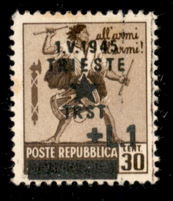 ITALIA / Occupazioni II guerra mondiale / Occupazione Jugoslava / Trieste / Posta ordinaria