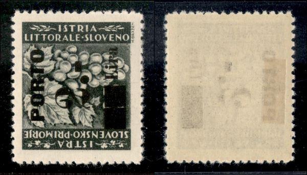 ITALIA / Occupazioni straniere di territori Italiani / Occupazione Jugoslava / Istria e litorale Sloveno / Segnatasse