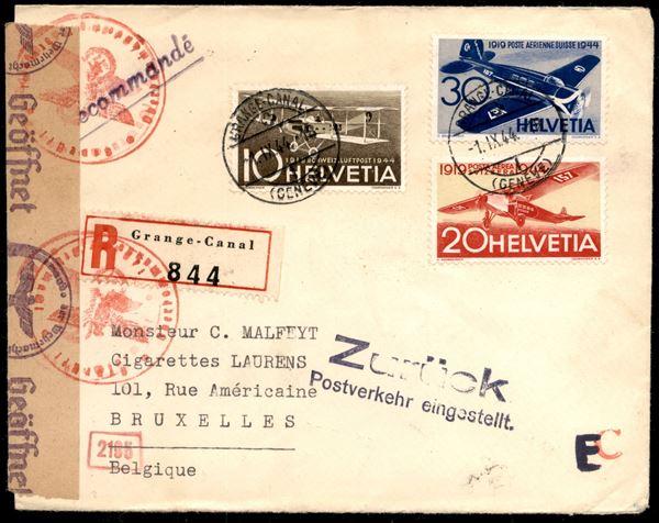SVIZZERA / Posta aerea