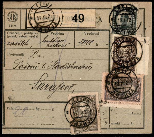 JUGOSLAVIA / Posta ordinaria
