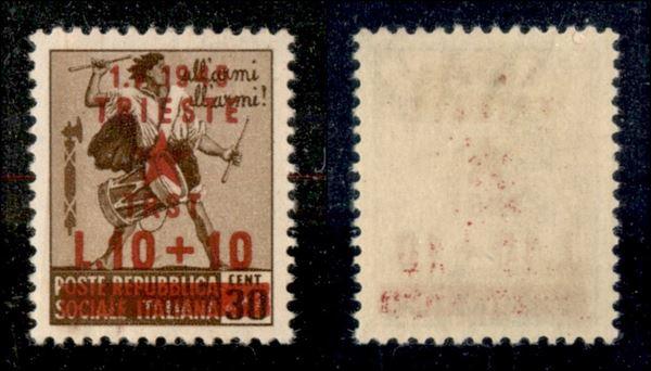 ITALIA / Occupazioni straniere di territori Italiani / Occupazione Jugoslava / Trieste / Posta ordinaria
