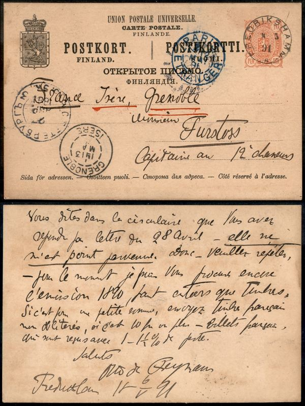 FINLANDIA / Posta ordinaria  - Asta Asta Veloce - Auction Gallery